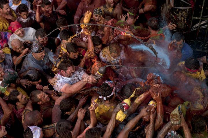 Fotografía de JORGE GUERRERO para Nthephoto. Fiesta del Cascamorras en Guadix