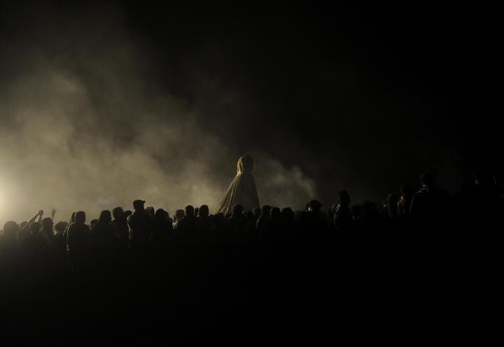 Fotografía de Cristina Diez de la Cortina Quicler para Nthephoto. Traslado de la Virgen del Rocío