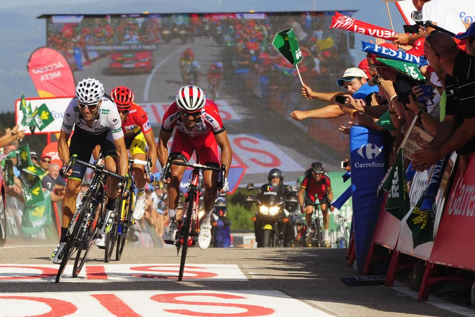 Fotografía de Rogelio Pinate Miguel para Nthephoto. Vuelta Ciclista a España 2014