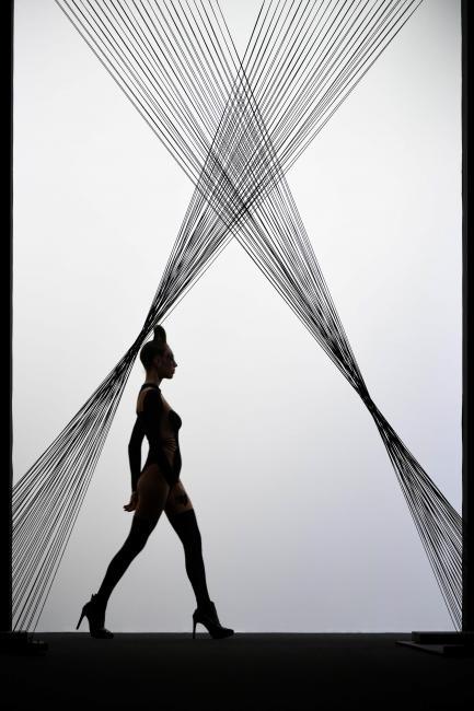 Fotografía de Diego Puerta para Nthephoto. Desfile de Maya Hansen en la Mercedes Benz Fashion Week Madrid 2017.