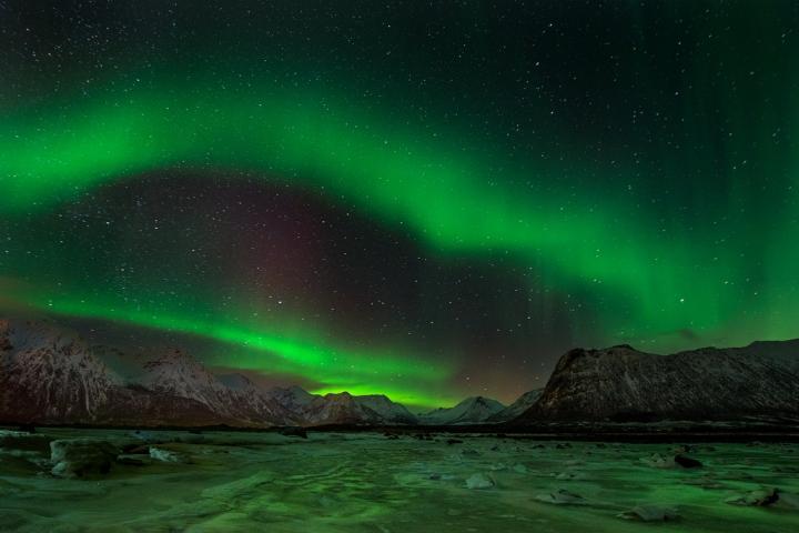 Fotografía de Roberto Iván Cano para Nthephoto. Auroras boreales