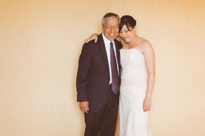 Fotografía de Sergio Fernández para Nthephoto. Una de las fotos más emotivas que recuerdo de este año. Y eso que se casaban por segunda vez; el padrino ya había pasado por este momento, pero, ¿cómo no volver a emocionarse?