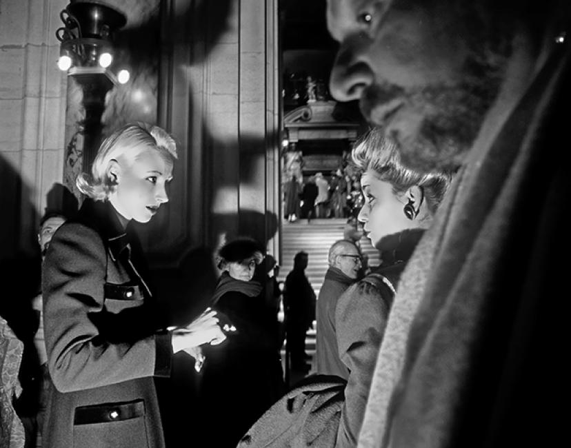 Fotografía de luis  davilla para Nthephoto. Estreno en la Opera de Paris